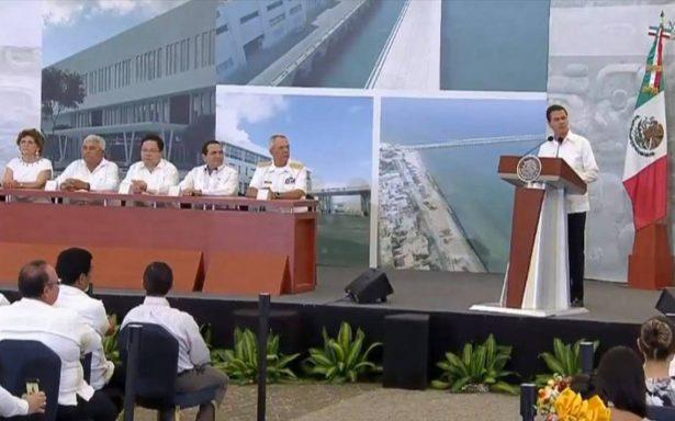 Firman Convenio de Coordinación para Zona Económica de Puerto Progreso, Yucatán