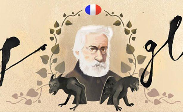 """Google celebra el 155 aniversario de """"Los Miserables"""" con doodle interactivo"""
