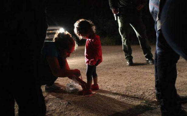 Los niños separados de sus familias llaman a gritos a sus mamás