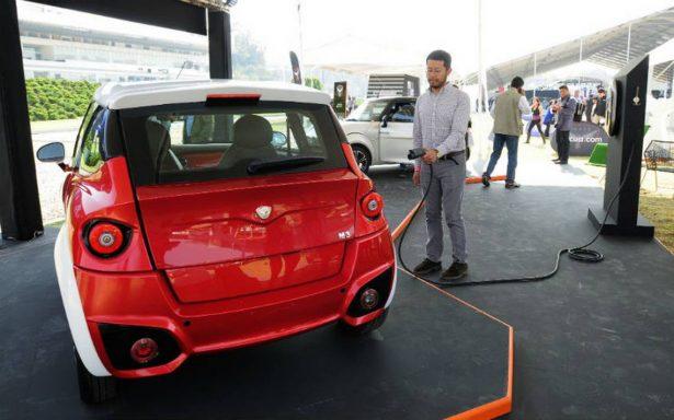 Marca de autos eléctricos con tecnología mexicana, inaugura planta en Puebla