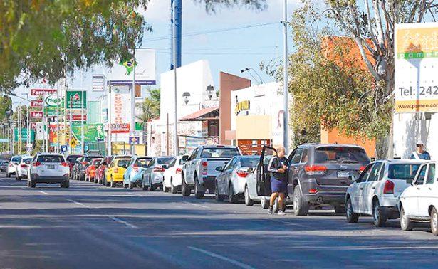 Verificentros de Querétaro, saturados
