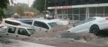 [Videos] Aguascalientes sufre ante tremendas inundaciones
