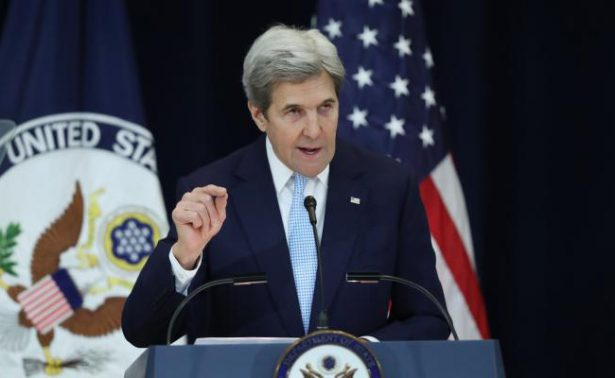 Kerry: La solución de dos Estados de Medio Oriente está en grave peligro