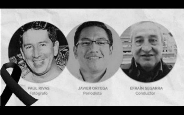 Confirma presidente de Ecuador muerte de periodistas; repudio mundial
