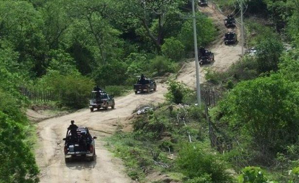 Huyen pobladores de la Sierra de Mazatlán