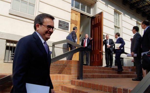 Continúa en Washington negociación del TLCAN