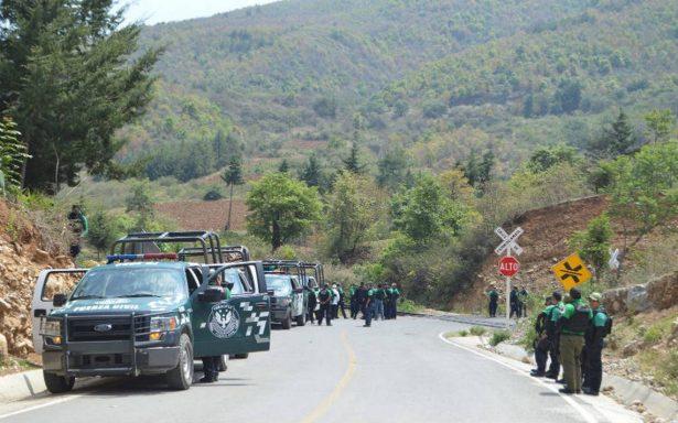 Heridos, 10 policías en enfrentamiento contra asaltantes