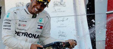 Hamilton da un paso más al título tras ganar el GP de Japón; Checo termina en séptimo