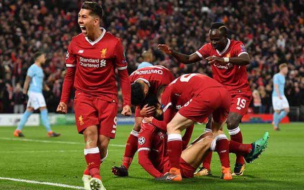 Liverpool deja encarrilado su pase a semifinales tras golear 3-0 al Manchester City