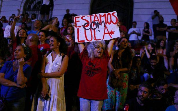 Policía de Brasil no ejecutará hoy orden de arresto contra Lula da Silva