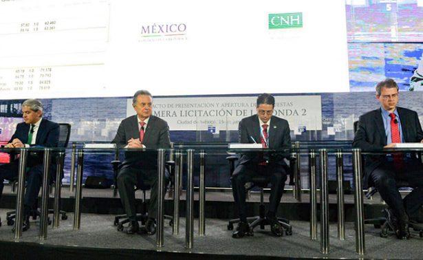 Primera licitación petrolera de Ronda 2 en México adjudica 10 áreas de las 15 ofertadas