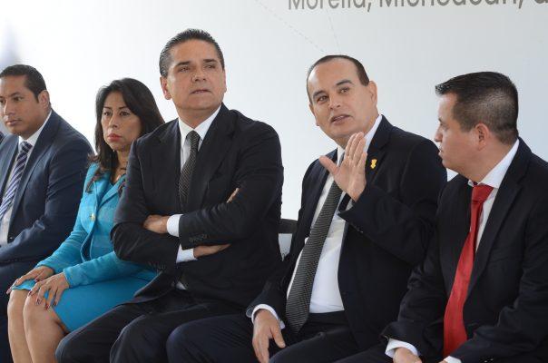 Gobernador confía que presupuesto estatal será suficiente para los michoacanos