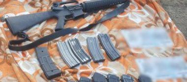 SSP y Sedena aseguran pipa con combustible, vehículos y armas en Los Reyes