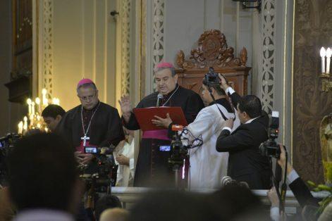 La iglesia de gala por nombramientodel arzobispo Carlos Garfías Merlos