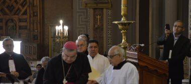 Toma posesión nuevo arzobispo de Morelia