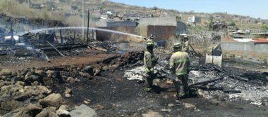 Fuego acaba con 7 viviendas en Ciudad Jardín