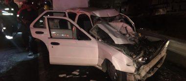 Aparatoso accidente deja dos personas fallecidas y dos lesionados