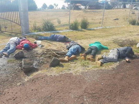 Localizan a 7 asesinados entre Ario de Rosales y Salvador Escalante