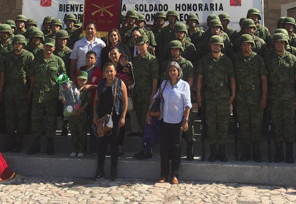 A sus ocho años, Zahori pertenece al Ejército Mexicano