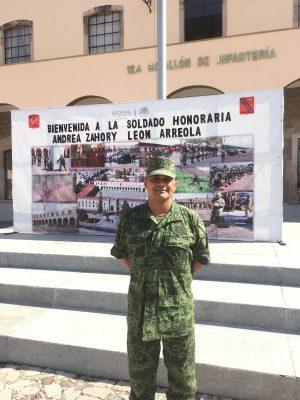 Los soldados son el pueblo de México, pero con uniforme: Francisco Acuña
