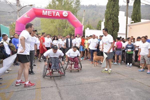 Diputados participarán en carrera sobre silla de ruedas