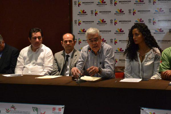 Michoacán, sede de los Juegos Nacionales de la Educación Media Superior 2017