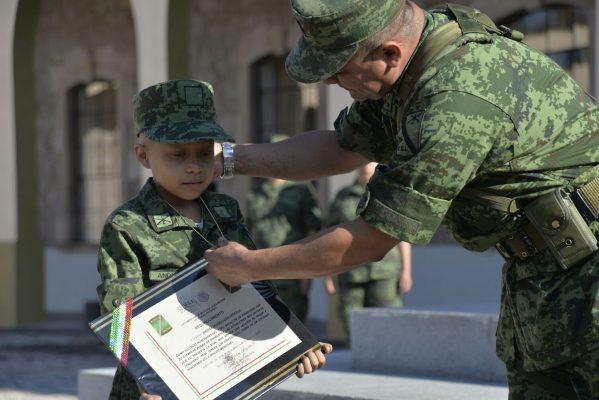 A sus 8 años, Zahori pertenece al Ejército Mexicano