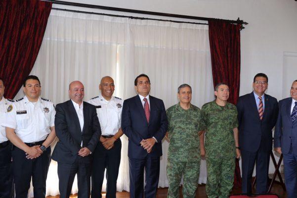 Presentan ante GCM a Rafael Abúndiz, nuevo coordinador de la PF en Michoacán