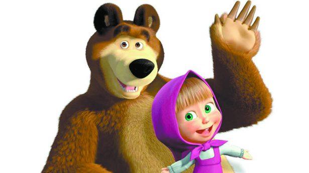 Llega el show de Masha y El Oso para divertir a los pequeños