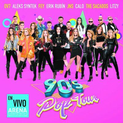 Con un escenario de 360 grados, anuncian concierto 90's Pop Tour