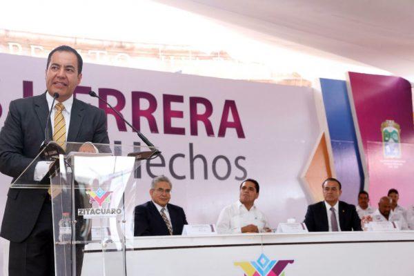 Con inversión histórica de 932 mdp transformamos Zitácuaro: Silvano Aureoles