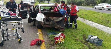 Tres mujeres lesionadas en accidente sobre la carretera Morelia – Pátzcuaro