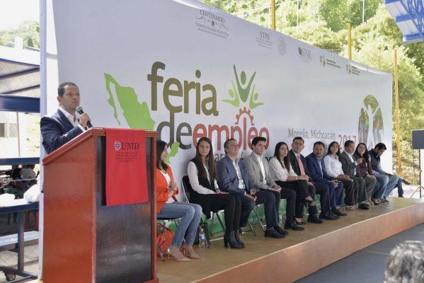 Arranca Feria del Empleo de los Jóvenes 2017