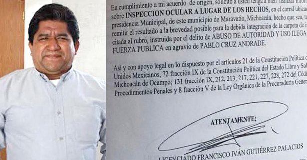 Exclusiva: Presentan regidores de Maravatío queja ante la CEDH