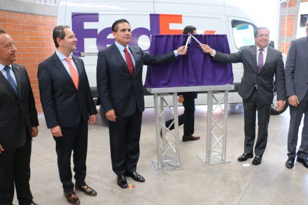 Inauguran planta de FedEx en Morelia