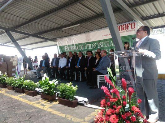 Conmemora Conafe su 46 aniversario