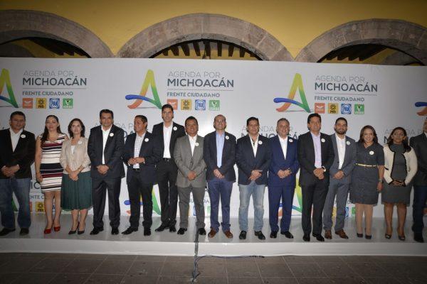 Mazazo al PRI; nace bloque PAN-PRD-MC y PVEM en Congreso de Michoacán