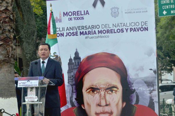 Unidad y fuerza tienen al país de pie: Osorio Chong