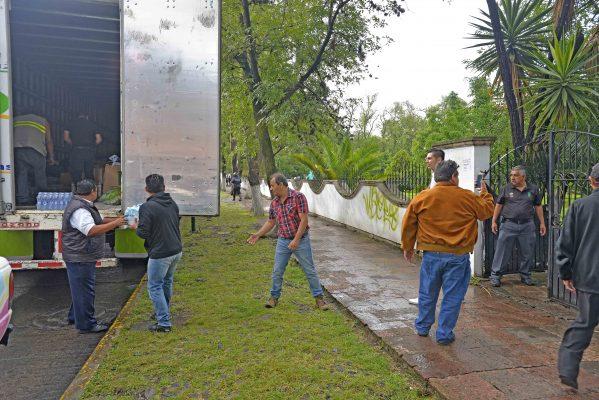 Extraordinaria, solidaridad michoacana; enviadas, 118 toneladas de ayuda