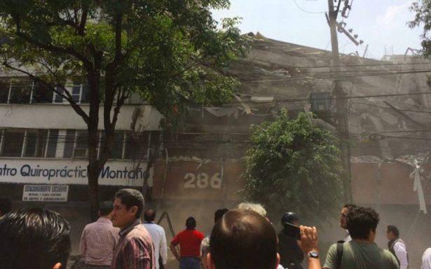 Fuerte sismo en México deja 47 muertos; reportan derrumbes y daños