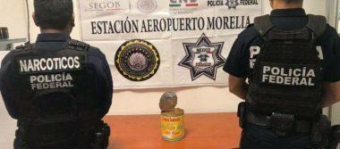 Encuentran droga en el interior de una lata de chongos zamoranos