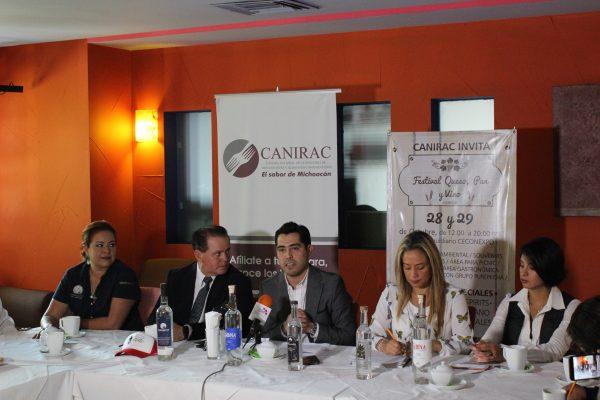 Presentan Festival del Queso,  Pan y Vino de Morelia
