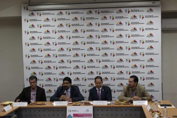 Inicia operatividad financiera  de Impulsa Michoacán