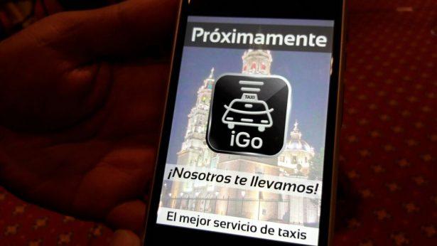 """Taxistas anuncian aplicación """"I Go"""" para competir con Uber"""