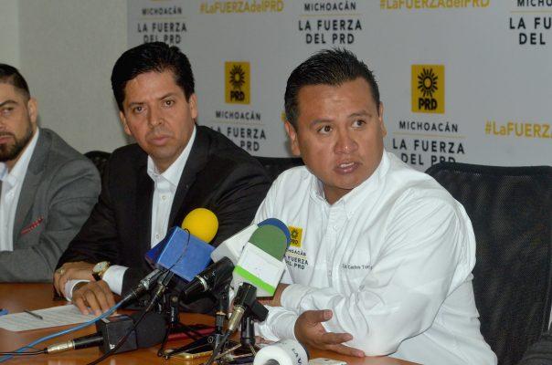 Edil nunca denunció amenazas: A. García