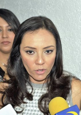 Necesario dar confianza a ediles para denunciar amenazas: Adriana Hernández