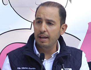 Es el tricolor y no el Frente quien va en picada: Marko Cortés