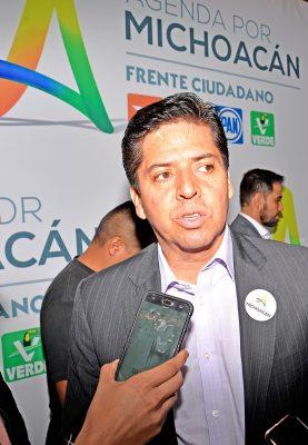 Por firmarse, versión michoacana del Frente Ciudadano