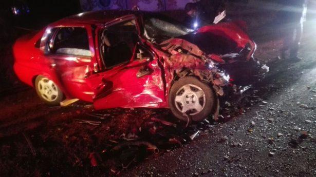 Aparatoso accidente en la carretera Irimbo-Ciudad Hidalgo