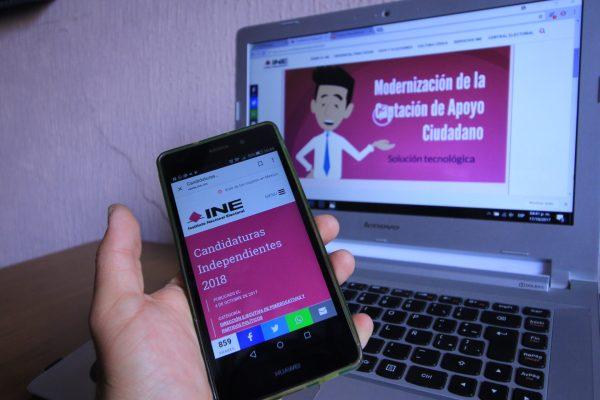 Anuncia INE actualización de App para colecta de firmas de independientes